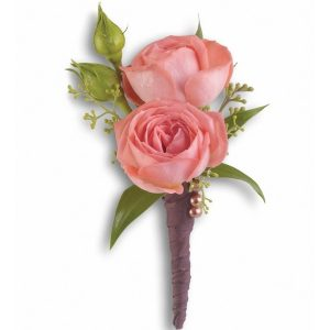 Wrapped Boutonniere
